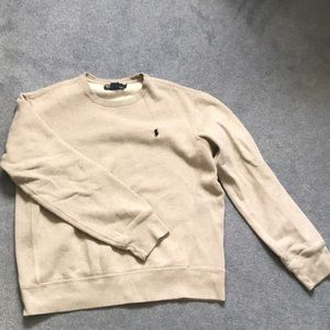 Grey Polo Ralph Sweatshirt